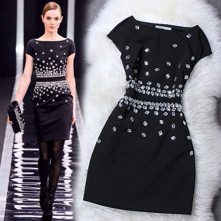big black prom dresses
