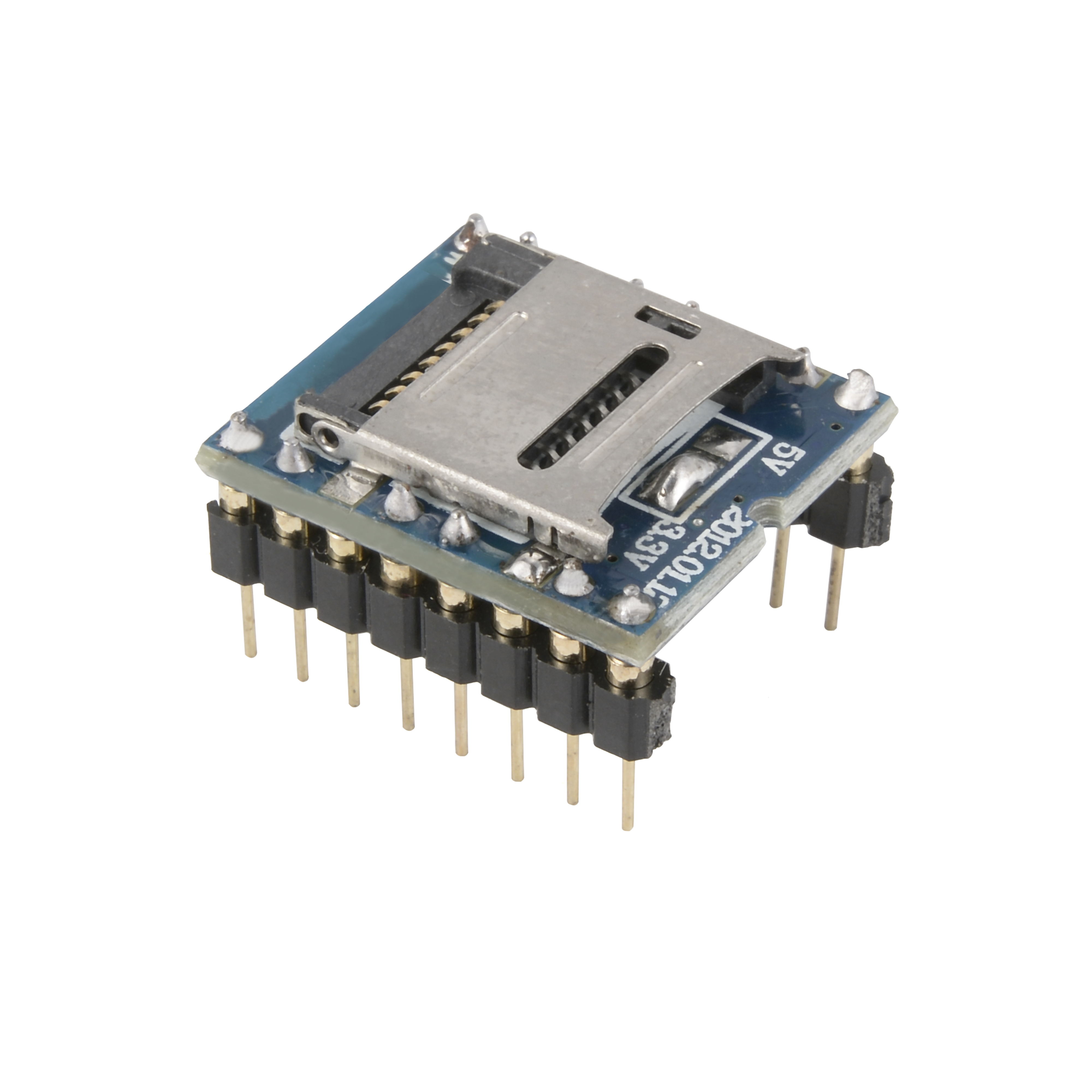 U-disk Audio Player TF SD Card Voice Module MP3 Sound WTV020-SD-16P for Arduino TE399(China (Mainland))