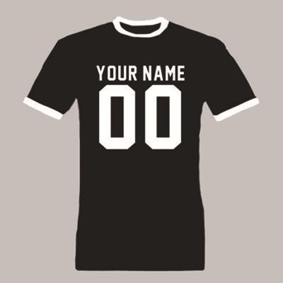 Laukexin brand camisetas mens t shirt name and number for Print name on shirt