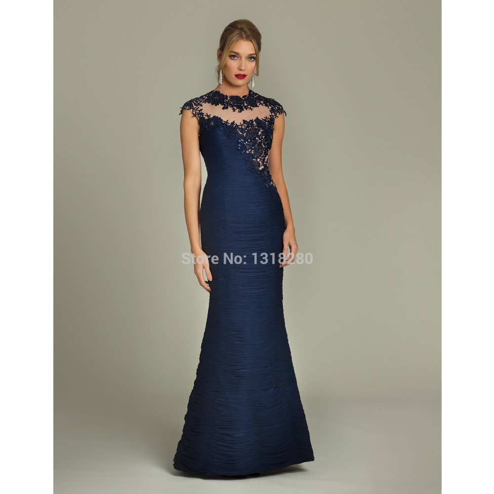 Midnight Blue Prom Dresses