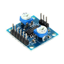 5W*2 Mini Digital Quality Sounds Amplifier Board Audio Module Volume Control without Noise Two-channel stereo Music Module(China (Mainland))