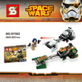 SY502 Star Wars Space Wars Clone Trooper Minifigures Building Block Toys Best Toys Compatible Legoe