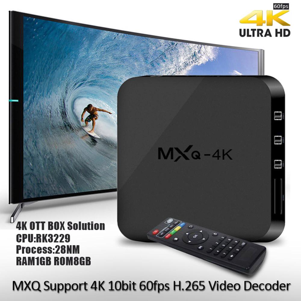 Телеприставка MXQ /4k Android