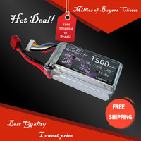 Free Shipping HRB Wholesale Price 14.8V 1500mah 25C Max 45C Toys & Hobbies For Helicopters RC Models Li-polymer Battery
