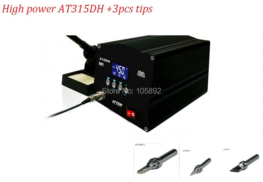 upgrade soldering iron atten at315dh tips 150w smd solder sttation led high power one with high. Black Bedroom Furniture Sets. Home Design Ideas