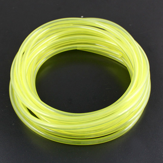 F14383/86 1M Gas Pipes Tube Universal Yellow for Fuel Tank Methanol Gasoline RC Model Aircraft Helicopter Boat Car Plane + FS(China (Mainland))