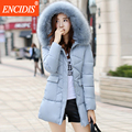 3 colors New Fashion Winter Long coat women 2016 Winter Female Fur Hooded parka clothes Lady