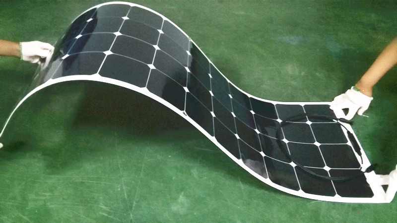 120W/24V flexible monocrystalline solar panel very slim solar panel for outdoor Diy,Car,Boat,charger(China (Mainland))