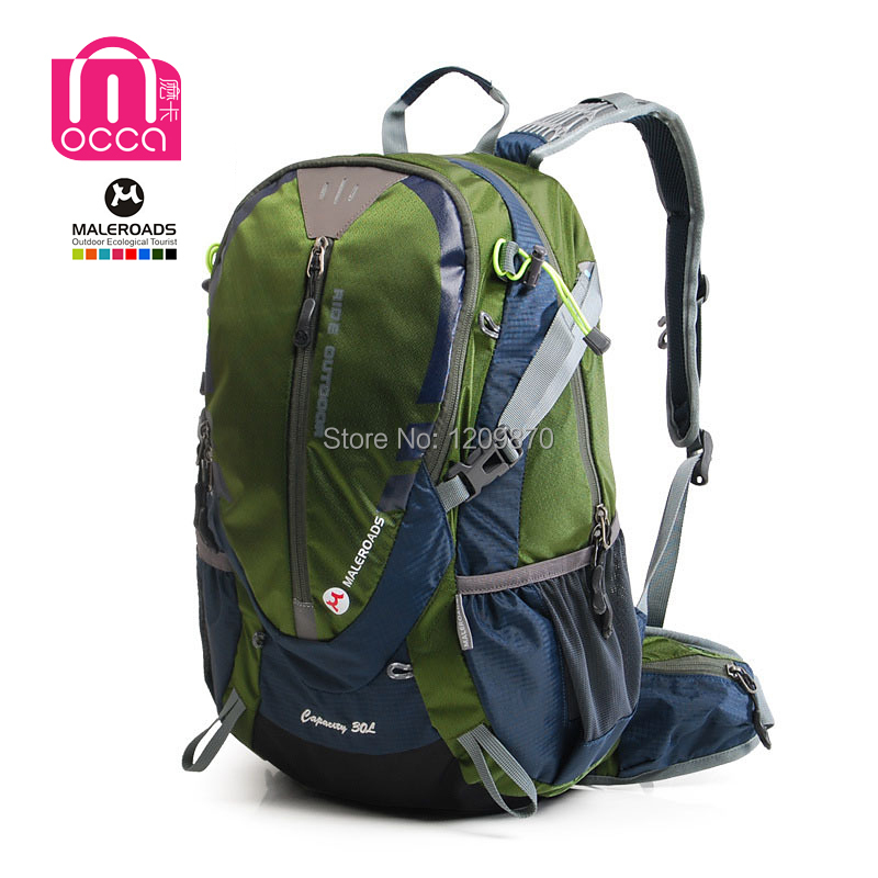 Maleroads 30L Waterproof Bicycle Backpack New 2015 Women&Men Bike Cycling Backpack Running Sport Bags Rucksack Hiking Backpacks(China (Mainland))
