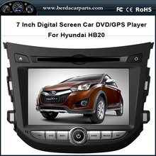 Car DVD Audio Player For Hyundai HB20 With GPS Radio BT IPOD Free Map