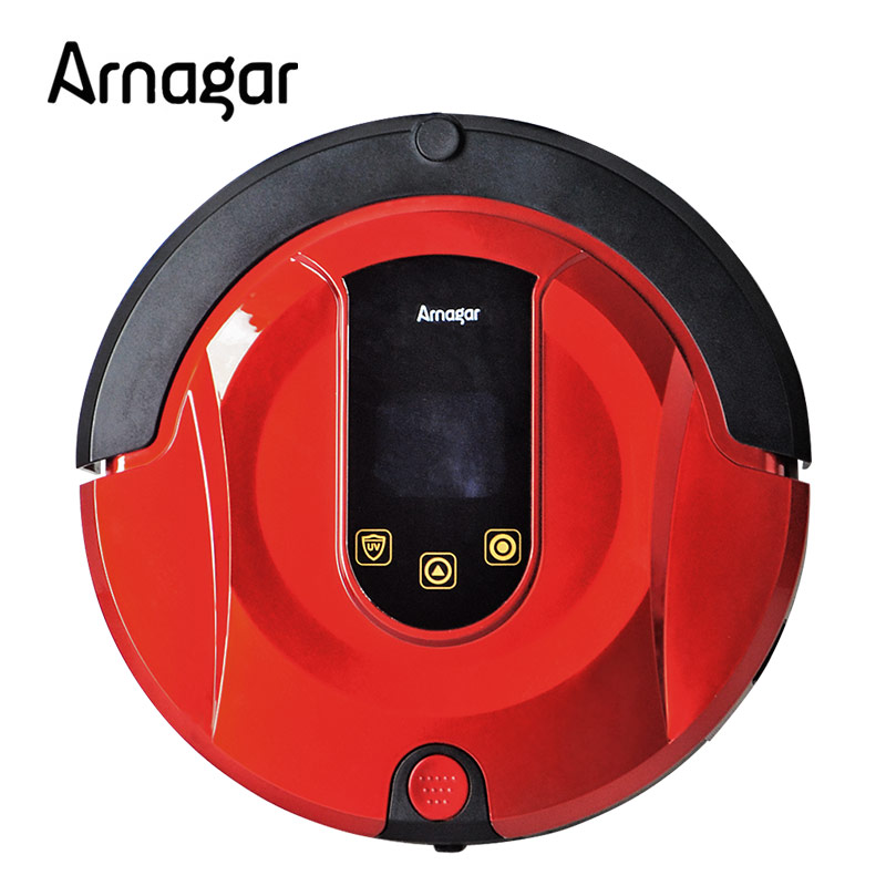 Smart Wet Robotic Vacuum Cleaner Wet and Dry Clean MOP Water Tank HEPA Filter Aspirateur ROBOT Q1 with water tank(China (Mainland))