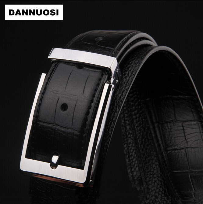 [DANNUOSI] 100% pure leather pin buckle belt casual men's fashion boutique upscale men's formal wear belts wholesale belts(China (Mainland))