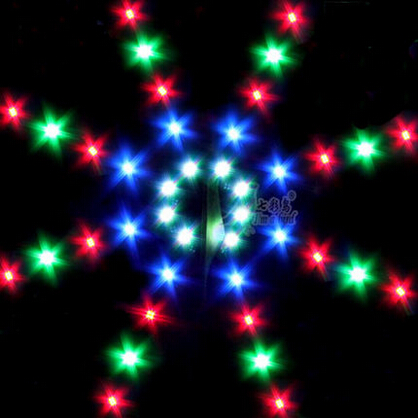 New High quality Outdoor Fun Sports LED Power Kite With Lights Good Flying Factory Outlet(China (Mainland))
