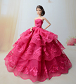 Real princess for barbie doll garments lot style informal clothes authentic costume number of elective equipment
