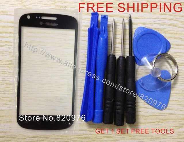 Original Replacement Touch Screen Lens Top Glass for SAMSUNG GALAXY S BLAZE 4G 769 SGH T769 769 Black +TOOLS+Free Shipping