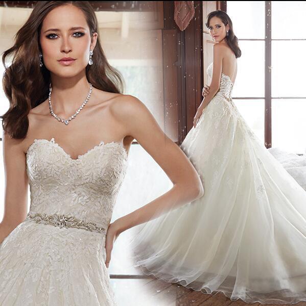 2016 новый Жилетido де noiva халат де mariage свадебные платья noiva длинные кружева ...