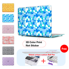 Heart Love Frosted Case For Apple Macbook Air 11 13 Pro 13 15 Pro Retina 13 15 Laptop Case For Mac Book Pro Case
