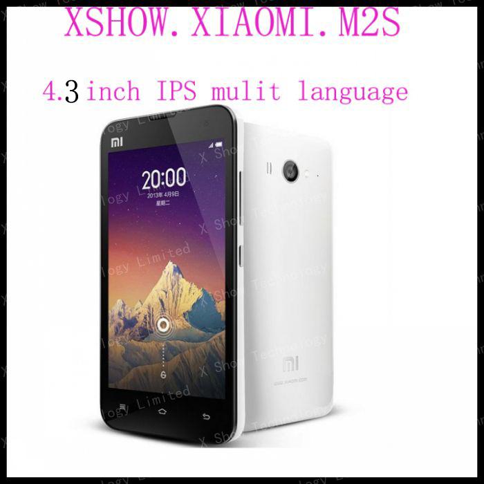 Original Xiaomi Mi2S M2S Qualcomm Quad Core Smart Phone 2GB RAM 32GB ROM 4.3'' IPS 1280*720px Screen 13mp 56 Language(China (Mainland))