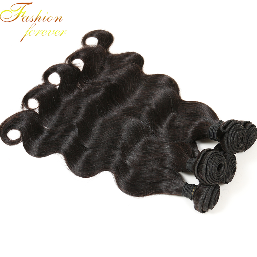 Queen Hair Brazilian Body Wave 4 Bundles Natural  Brazilian Virgin Hair Unprocessed Virgin Human Hair Weave Bundles No tangle