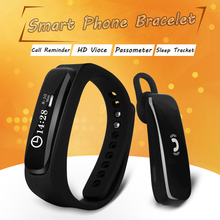2015 NEW Smart Wristband For IOS 7.0 / Android 4.3 above Smart bracelet With Bluetooth Earphone Waterproof PK HUAWEI TalkBand B2