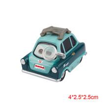 Disney Pixar Cars 2 3 Relâmpago McQueen e Mater Jackson Tempestade Ramirez 1:55 Diecast Metal Veículo Liga Brinquedos de Natal Do Menino Do Miúdo presente(China)