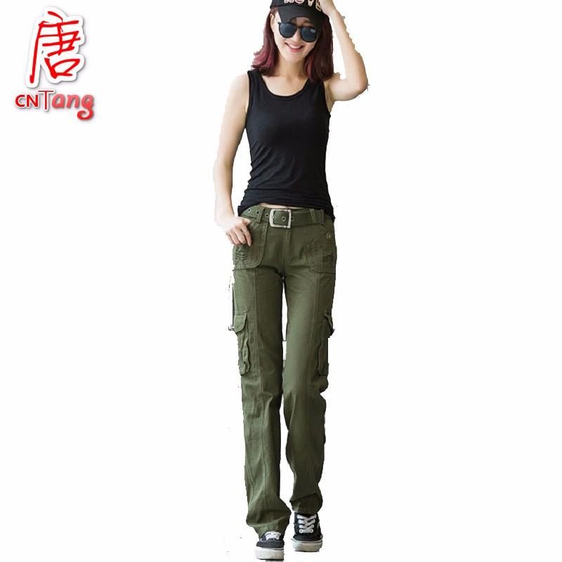 achetez en gros khaki cargo pants women en ligne des grossistes khaki cargo pants women. Black Bedroom Furniture Sets. Home Design Ideas