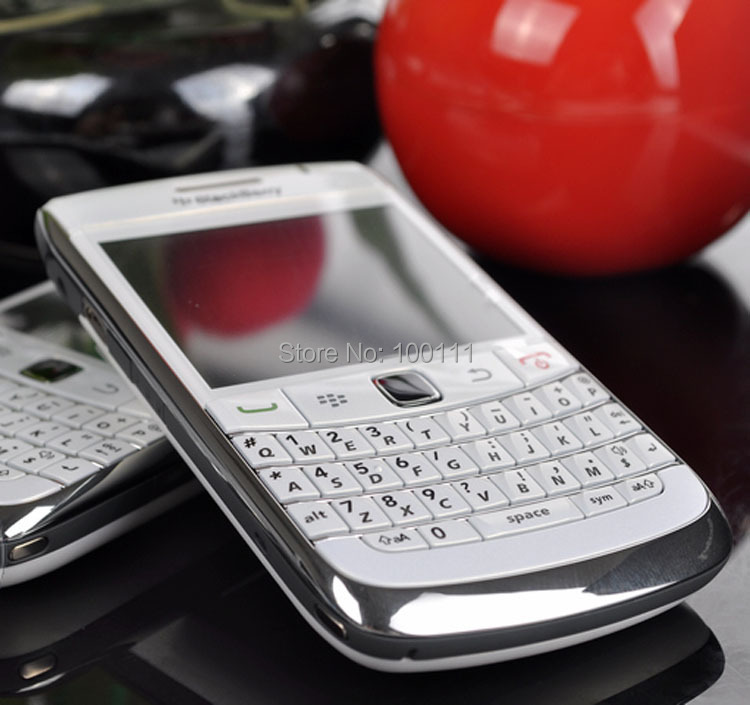 unlocked Original Blackberry 9700 Cell Phone QWERTY Keyboard 3.2MP Camera Refurbished Mobile Phone Free Shipping(Hong Kong)