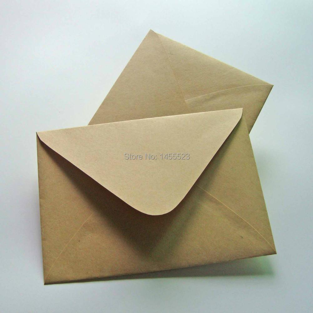 livraison gratuite 13 19 cm kraft enveloppes d invitation papier enveloppe enveloppe