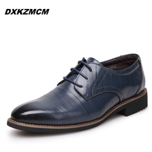 2016 Fashion British Style High Quality Genuine Leather Men Oxfords, Lace-Up Business Men Shoes Wedding Shoes, Men Dress Shoes