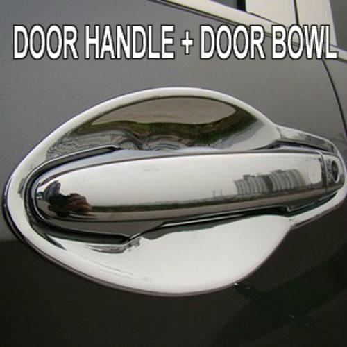 Accessories 2in1 Fit For 2012 2013 2014 Honda Cr V Crv Chrome Door Handle Cover Door Bowl