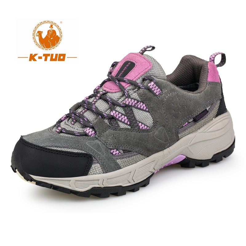 K-TUO Spring Hiking Shoes Walking Women Climbing Shoes Mountain Outdoor Sport Boots Non-Slip Breathable Hiking Sneakers KT-3128(China (Mainland))