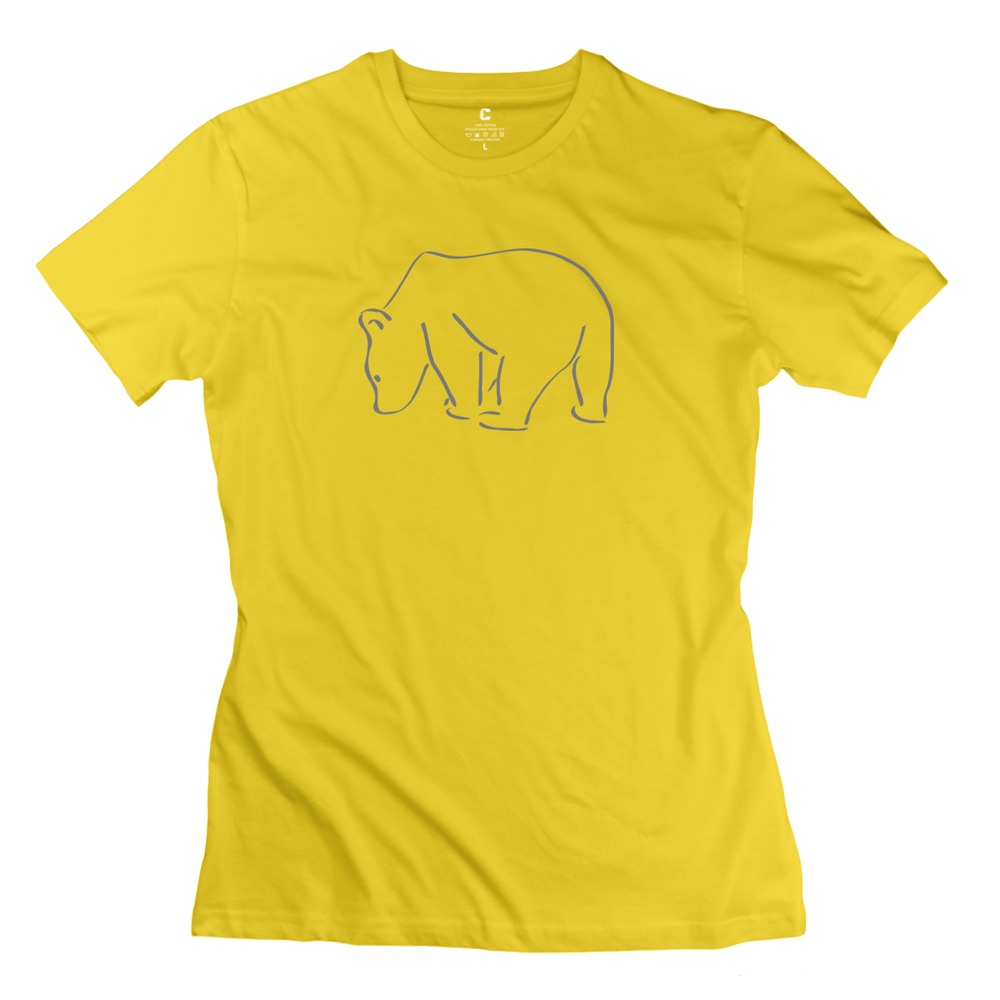 Designer Girl New Coming T Shirt Bear Sport Organic Cotton