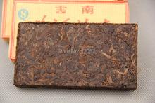 Free shipping 2008 Pu er tea cooked tea super Yunnan Puer tea brick 100g Grade cowhide