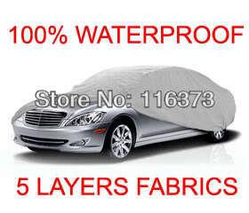5 Layer Car Cover Outdoor Water Proof Indoor Fit FORD MUSTANG BULLITT 2001 2002 WATERPROOF - Online Store 116373 store