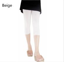 2016 Summer Style New thin Section Wardrobe malfunction-proof pant leggings modal short sport women leggings for girls kz040(China (Mainland))