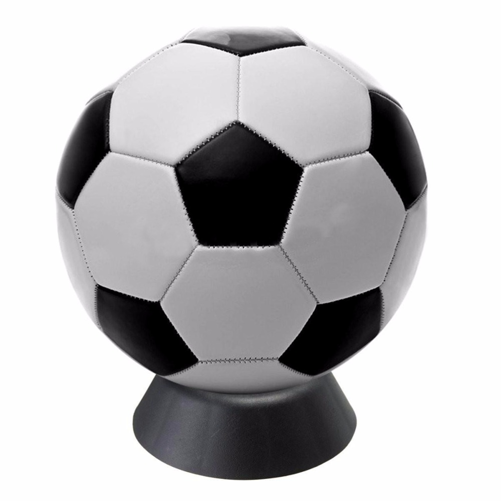 1pc Top Quality Black Color Plastic Ball Stand Display Holder Basketball Football Soccer Rugby Ball Support Base Wholesale(China (Mainland))