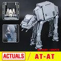 Lepin 05051 Star War Series Force Awaken The AT Transpotation Armored Robot Building Blocks Bricks Educational