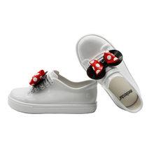 מיני מליסה 2019 חדש מיקי Bowknot מקרית ילדה אחת נעלי ממתקי פירות נעלי גומי עמיד למים ילדים מליסה סנדלי נעליים(China)