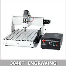 200W MACH3 Control Diy 3040T Mini CNC Machine, Working Area 28 x 39 x 5.5cm, 3 Axis Pcb Milling Machine, Wood Router, cnc router(China (Mainland))