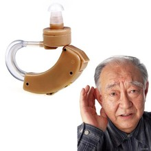 Hot 1 Pc Best Digital Tone Hearing Aids Aid Behind The Ear Sound Amplifier Adjustable Free Shipping(China (Mainland))