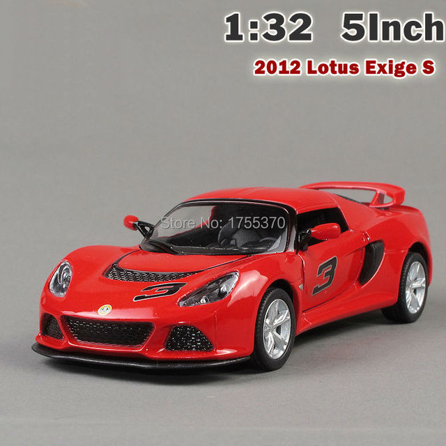 1:32 5'' Lotus Edge Sports Car Alloy Simulation Model Toy Car With Pull Back For Boy Kids
