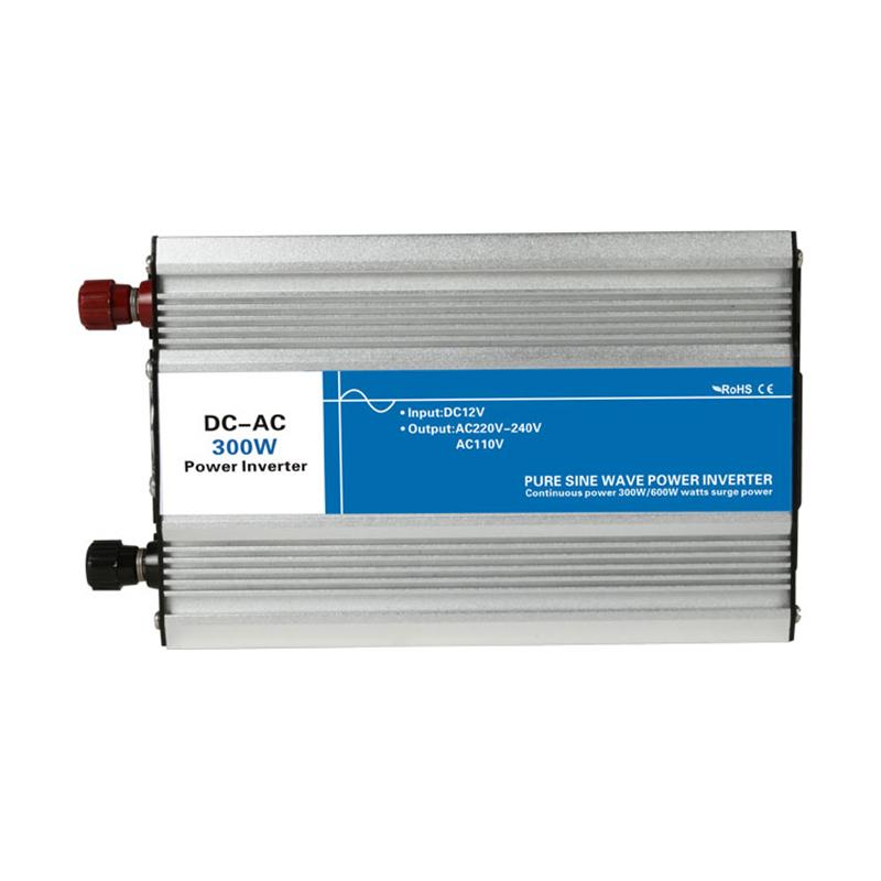Power 300W DC Input 12V 24V 48V AC Output 110V 220V Pure Sine Wave Grid Tie Inverter custom Charge solar LED Display watt volt(China (Mainland))