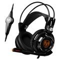 Original Somic G941 7 1 Virtual Surround Sound USB Gaming Headset Vibrating Glow Led Headband Headphone