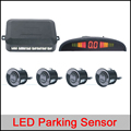 Car LED Parking Sensor Kit Display 4 Sensors 22mm 12V for all cars Reverse Assistance Backup