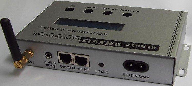 DMX master controller;AC110V/220V input;DMX 512 signal output,with IP editon function,max control 170pcs pixel(China (Mainland))