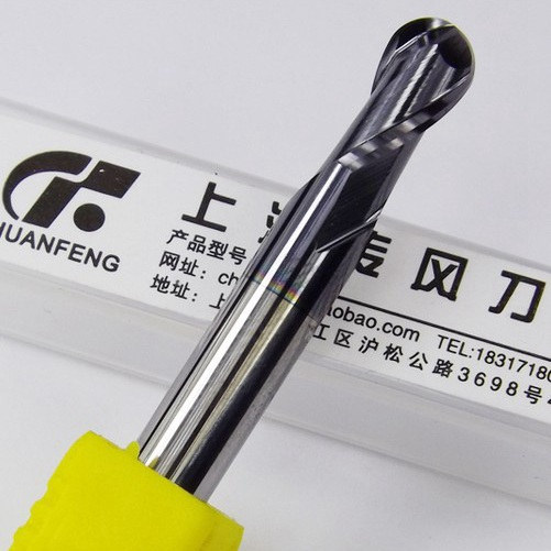 1pcs 6mm Tungsten Carbide Milling Cutter For Steel Ball Nose(China (Mainland))