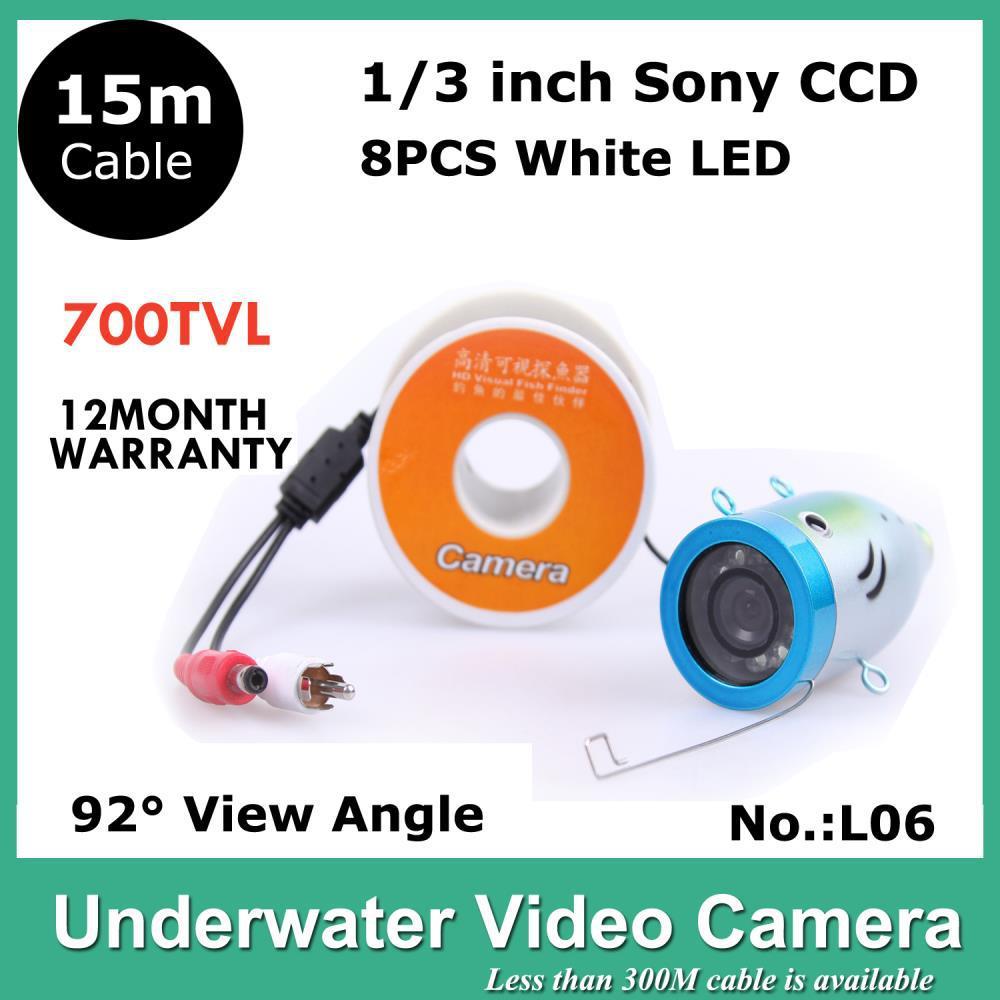 15M Underwater Video Camera System Underwater Fish Finder HD 700TV Lines Fishing Underwater Camera CCTV Security Camera Monitor(China (Mainland))