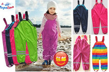 Casual pants, overalls, waterproof trousers, brand pants, children's pants, boys and girls pants, children's brand trousers(China (Mainland))