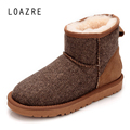 100 Natural Wool Fur Sheepskin Women Winter Snow Boots Warm Keep Shearling Boots GN05 LOAZRE