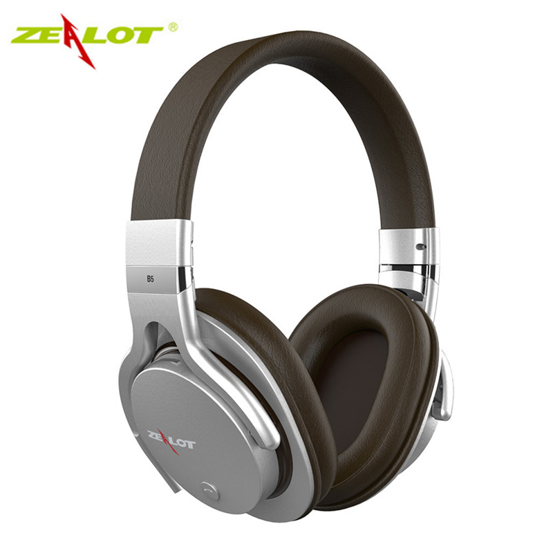 Здесь можно купить  Wireless Bluetooth Stereo Headphones Zealot B5 Over-Ear HiFi Headset Built-in Mic Support TF Card Play / Phone Handfree Call  Бытовая электроника